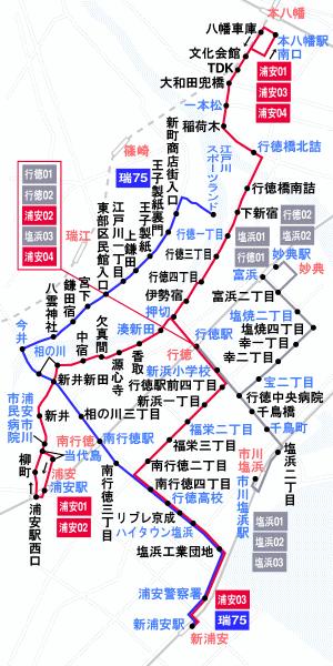 路線図 路線バスのご案内 京成トランジットバス