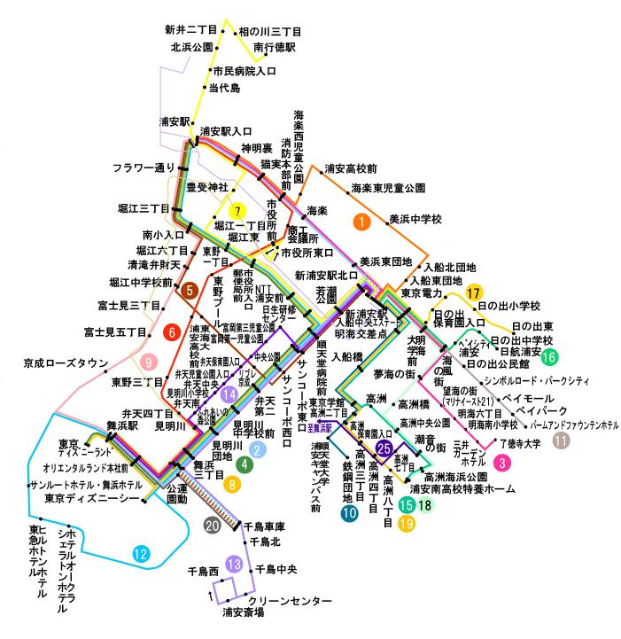 京成バスの運行状況や路線図 – バスNAVIタイム